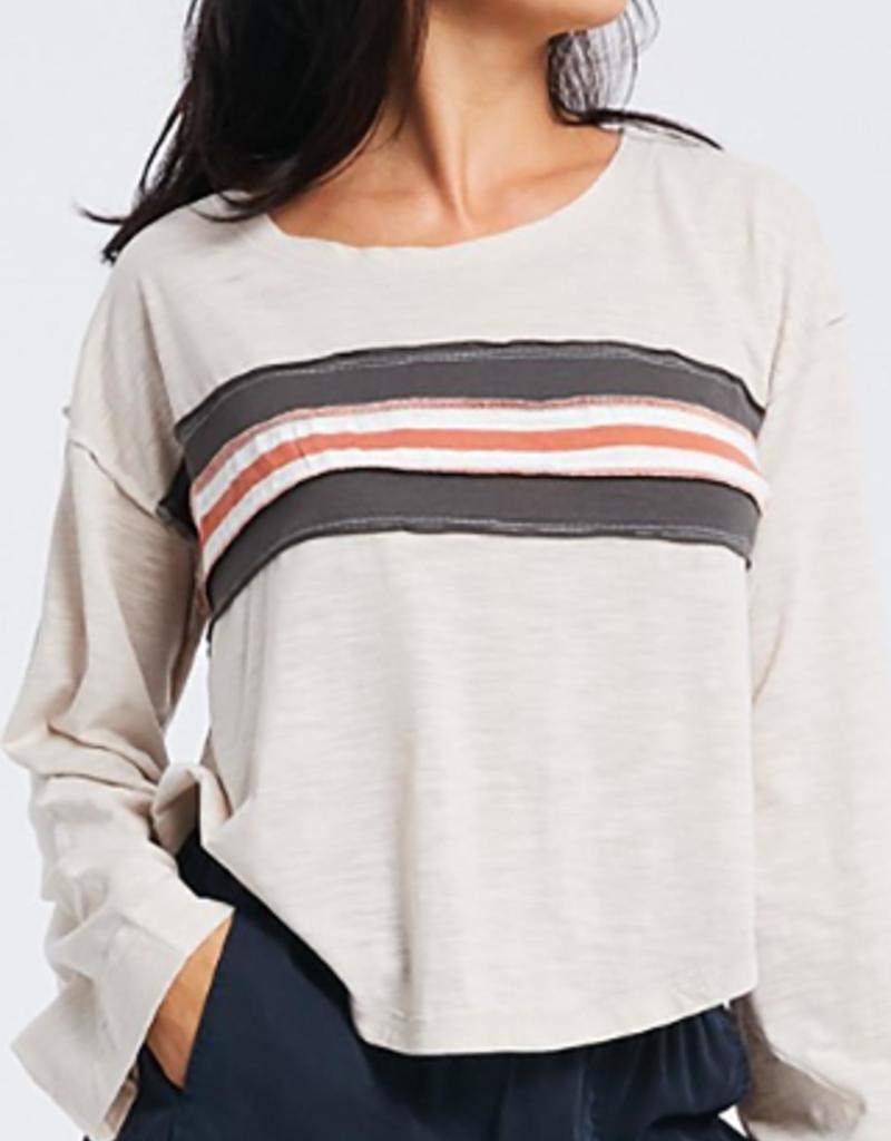 Wishlist Long Sleeve Stripe T