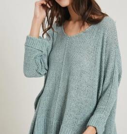 Wishlist Hi Lo Light Weight Sweater