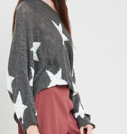 Wishlist Batwing Star Sweater