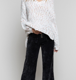 POL Confetti Hoodie Sweater