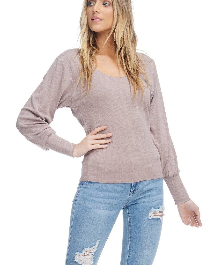 Anama Bishop Sleeve Long Sleeve Shirt