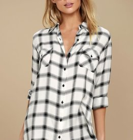 BB Dakota Plaid Button Down Shirt