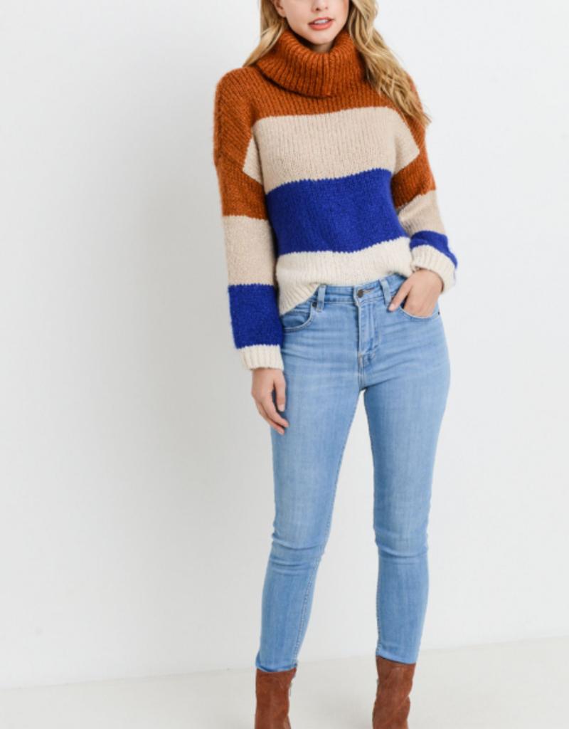 Papercrane Knit Colorblock Sweater