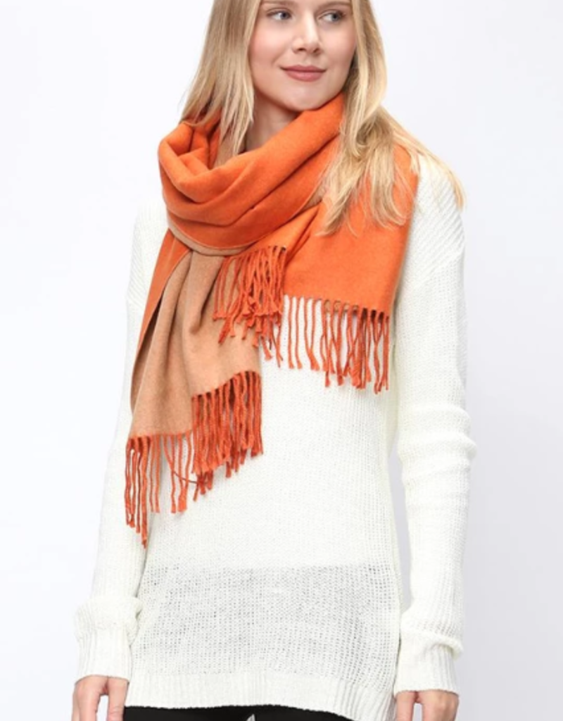 Pretty Honeybun Reversable Oblong Scarf
