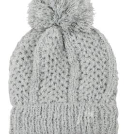 LIB Knit Pom Pom Beanie