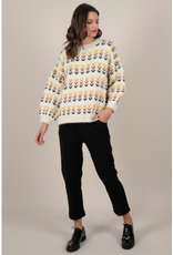 Molly Bracken French Knit Oversize Sweater