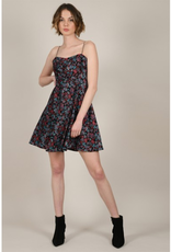 Molly Bracken Autumn Print Skater Dress
