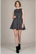 Molly Bracken Tiles Mini Skater Dress