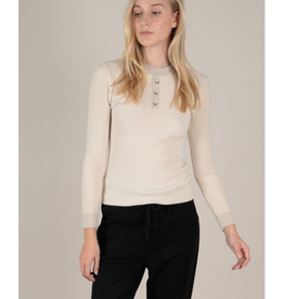 Molly Bracken Beige Subtle Sparkle Sweater