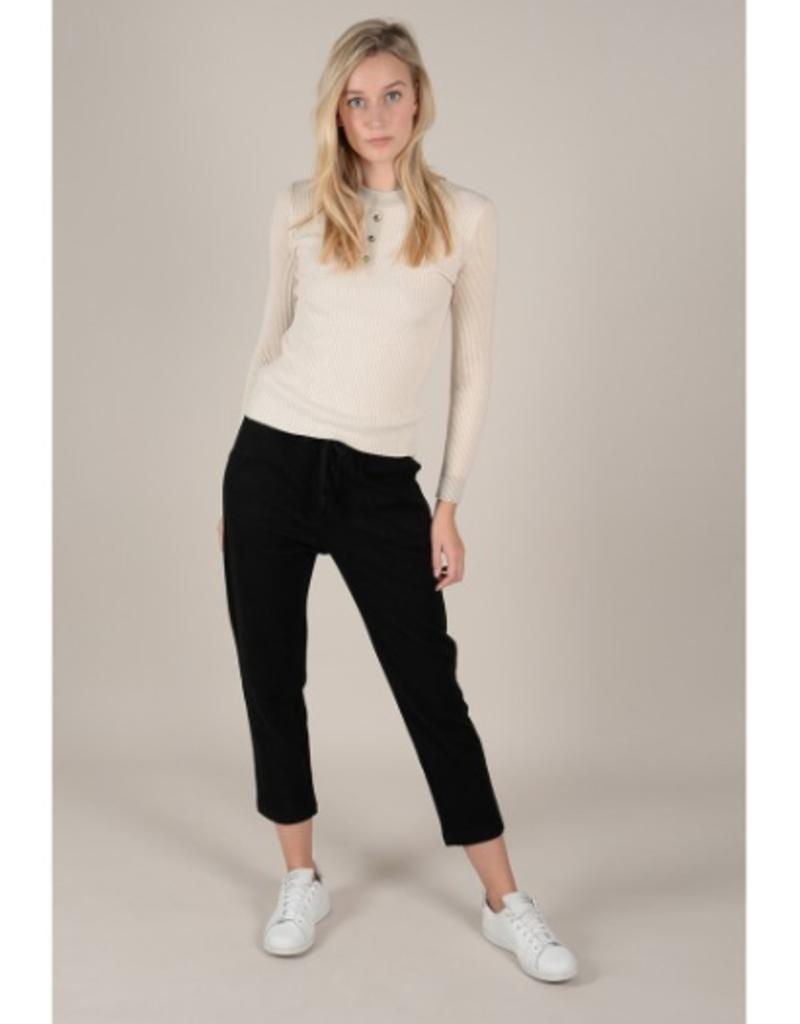Molly Bracken Beige Subtle Sparkle Sweater