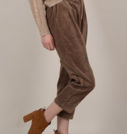 Molly Bracken Cropped Corduroy Pants