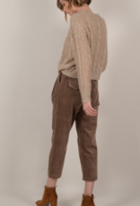 Molly Bracken Cropped Corduroy Pants