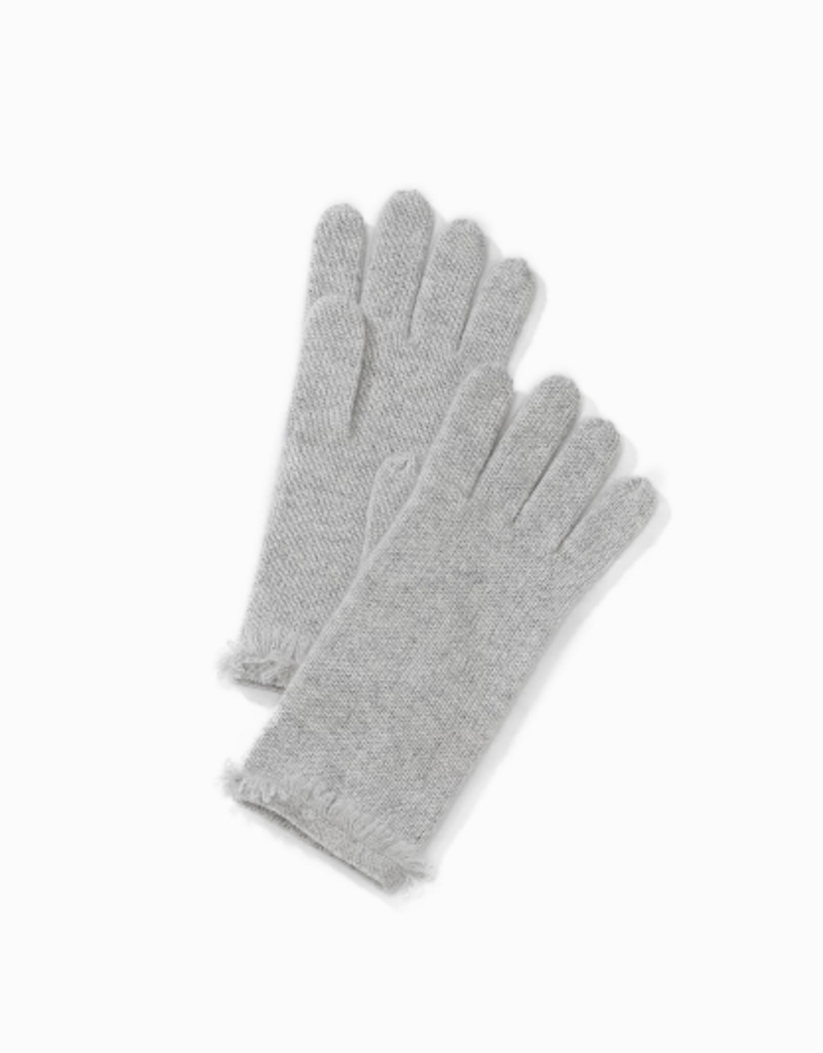 Look By M Premium Cashmere Fringe Gloves