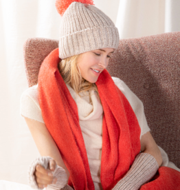 Look By M Cashmere Blend Cotton Candy Hat