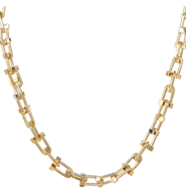 Horseshoe Link Urban Chain Necklace