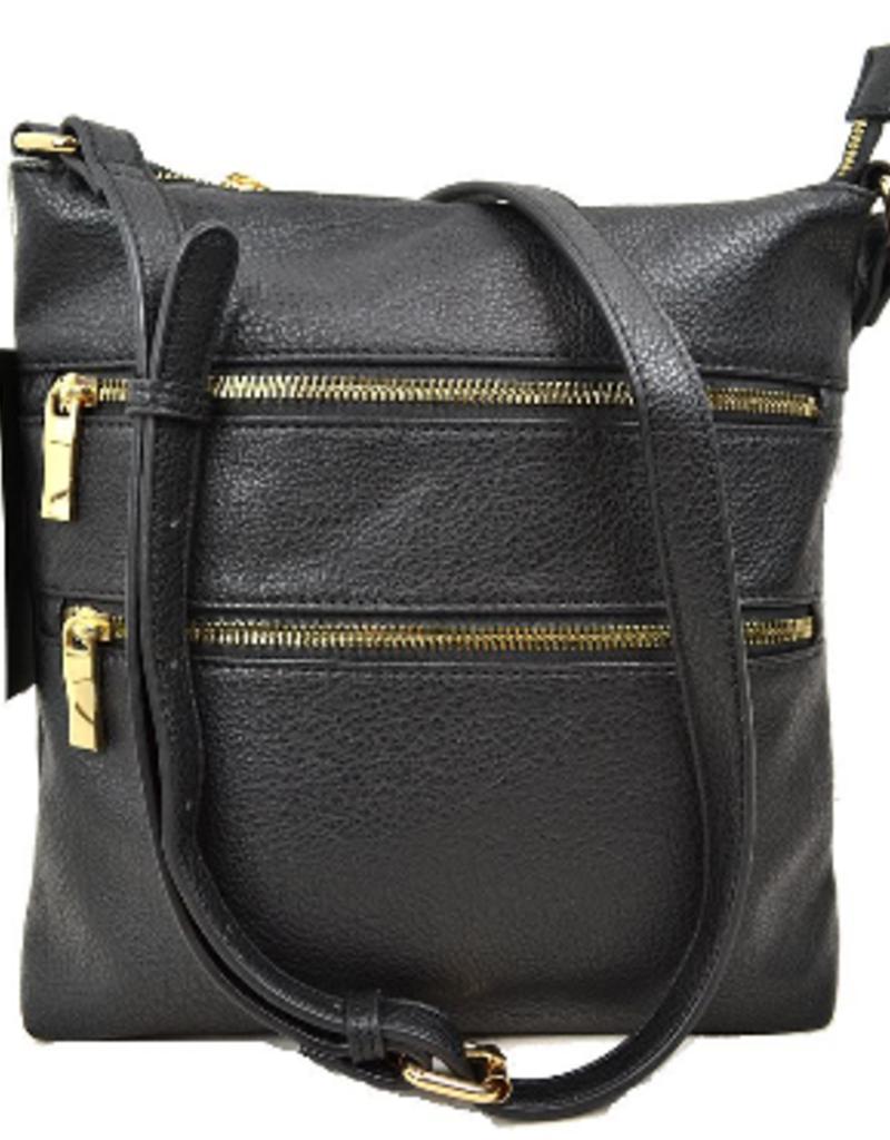 Le Miel Multi Pocket Crossbody Bag
