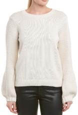 BB Dakota Oatmeal Bishop Sleeve  Sweater