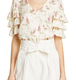 Rebecca Taylor Ivie Ruffle Top
