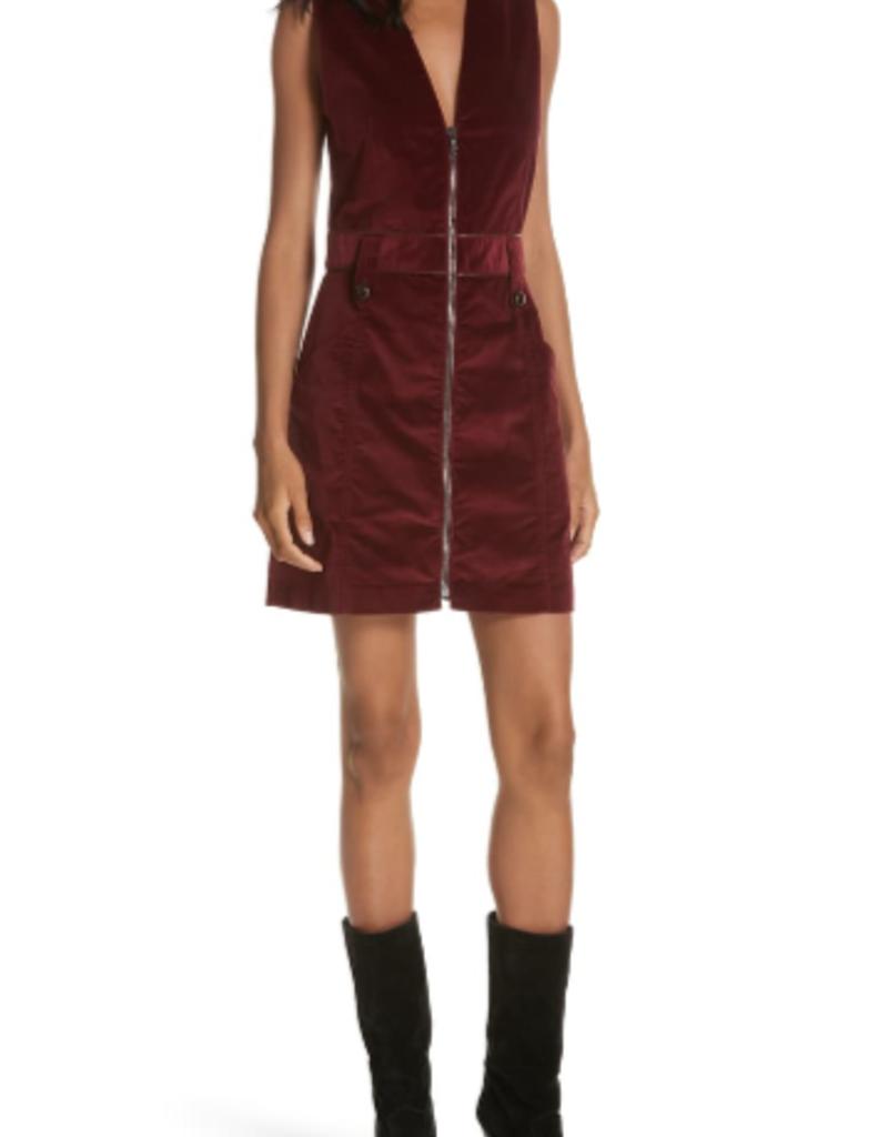 Veronica Beard Orial Corduroy Dress