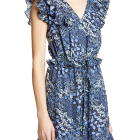 Rebecca Taylor Rebecca Taylor Ava Ruffle Silk Minidress sz 2
