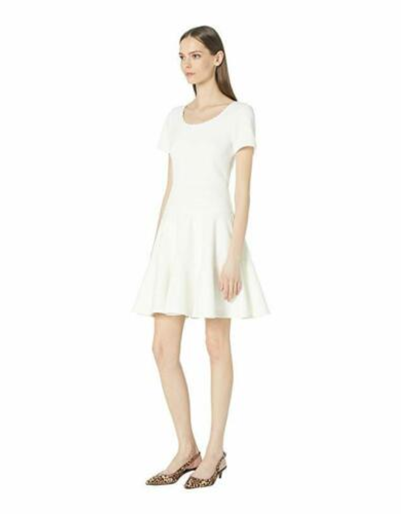 Rebecca Taylor Textured Skater Dress