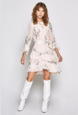 Joie Joie Kayane Silk Floral Print Dress Sz 4