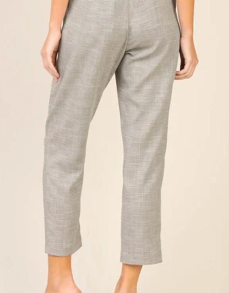 Skies Are Blue O Ring Belted Trouser