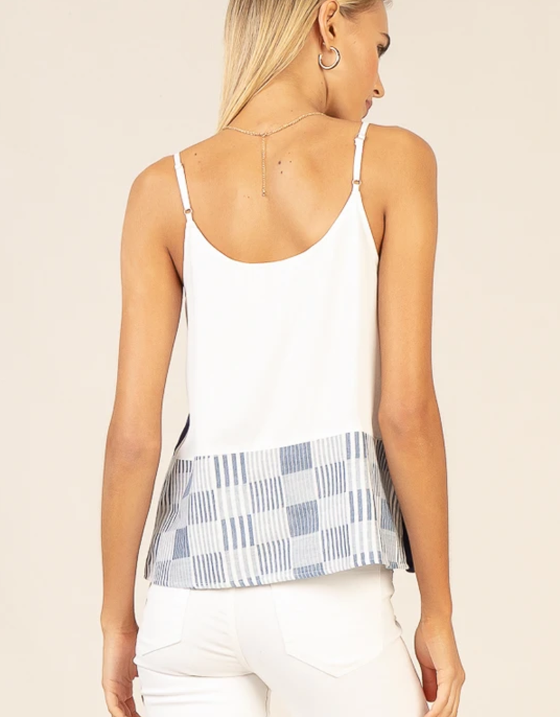 Current Air Patch Work Tank Top