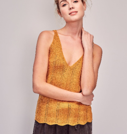 Mustard Seed Knit Scallop Edge Tank Top