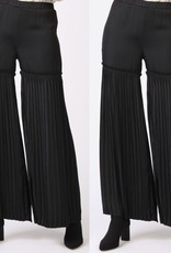 Current Air Pleated Wide Leg Pants