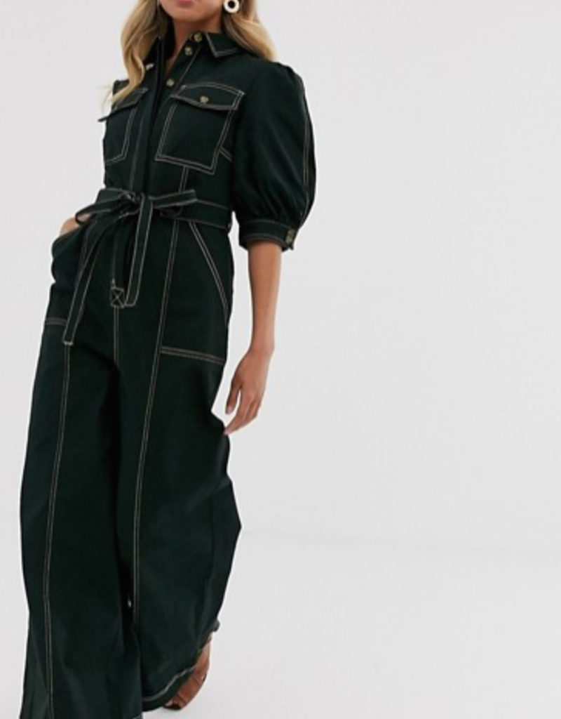 The East Order Wide Leg Jump Suit