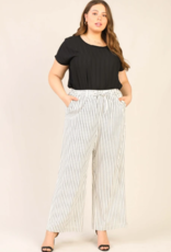 Skies Are Blue Paper Bag Striped Pants