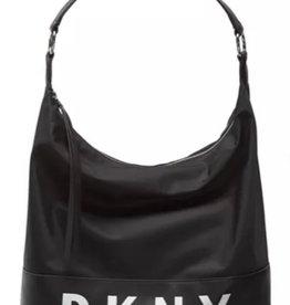 DKNY DKNY Tanner Hobo Black Nylon Logo Bag