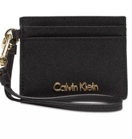 Calvin Klein Calvin Klein Saffiano Card Case Black