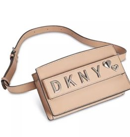 DKNY DKNY Smoke Leather Belt Bag in Tan