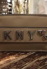 DKNY DKNY Smoke Leather Belt Bag in Tan