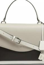 DKNY DKNY Lex Leather Top Handle Satchel