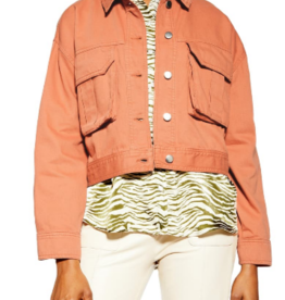 Topshop Topshop Avril Shirt Jacket Sz 4-6