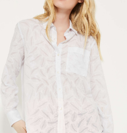 Joe Fresh Joe Fresh Burnout Shirt White
