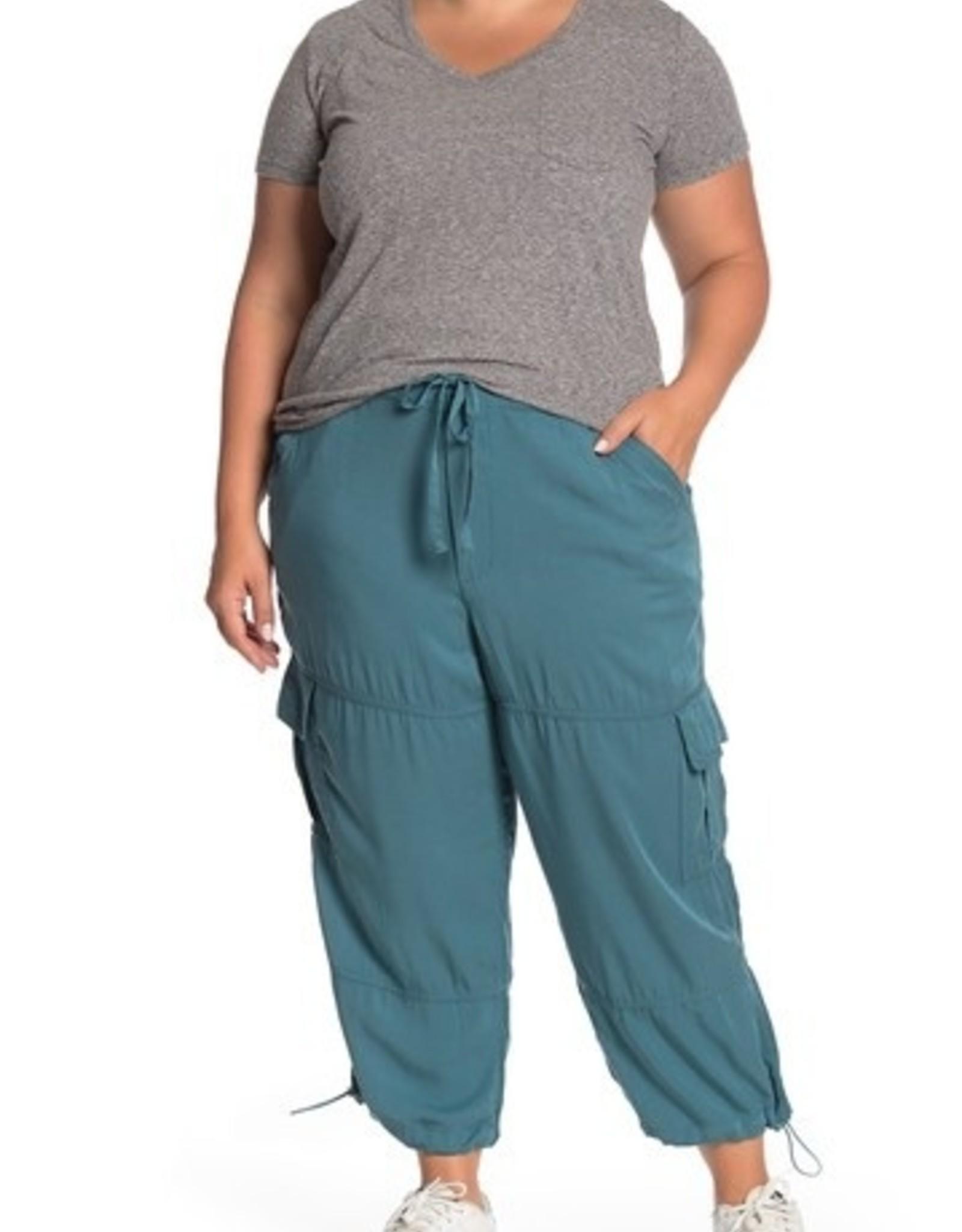 Joe Fresh Joe Fresh Plus Sized Cargo Pants Moss Green