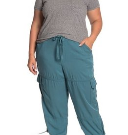 Joe Fresh Joe Fresh Plus Sized Cargo Pants Moss Green