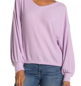 Abound Abound V-Neck Sweater Purple Betta Sz XL
