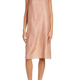 Eileen Fisher Eileen Fisher Silk Beige Slip Dress Sz XXS