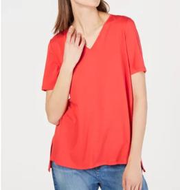 Eileen Fisher Eileen Fisher Hi-Lo V-Neck Tencel T-Shirt Sz XS