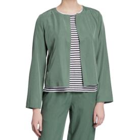 Eileen Fisher Eileen Fisher Sandwashed Tencel Nori Short Jacket Sz XS