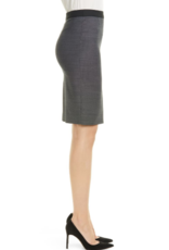 Boss BOSS Vimena Micro Pattern Suit Skirt Sz 8
