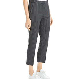 theory Theory Striped Wool Cropped Pants Sz 8