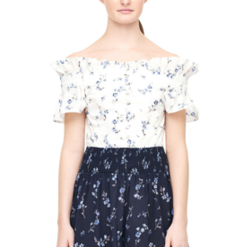 Rebecca Taylor Rebecca Taylor Fracine Floral Silk Short Sz M