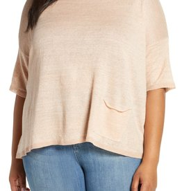 Eileen Fisher Eileen Fisher Boxy Organic Linen Sweater sz 3X 176E