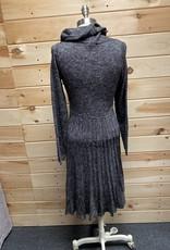 Max studio Max Studio L/S Cowl Neck Sweater Dress Sz M